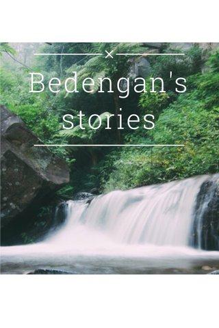 Bedengan's stories