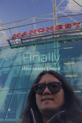Finally Manchester United