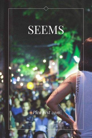 SEEMS   Pica Fest 2016 