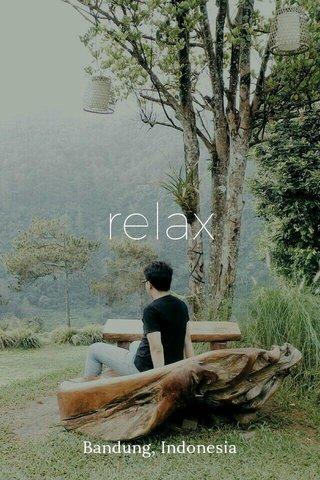 relax Bandung, Indonesia