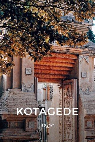 KOTAGEDE Yogya