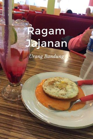 Ragam Jajanan Urang Bandung