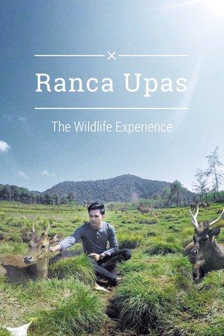 Ranca Upas The Wildlife Experience