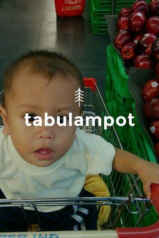 tabulampot