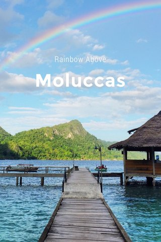 Moluccas Rainbow Above