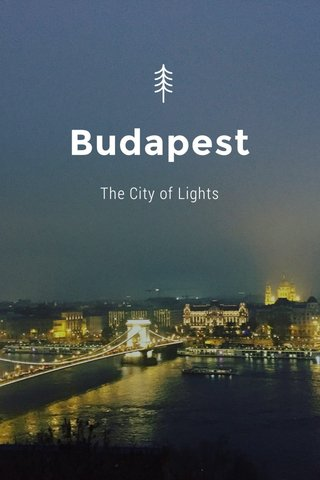 Budapest The City of Lights