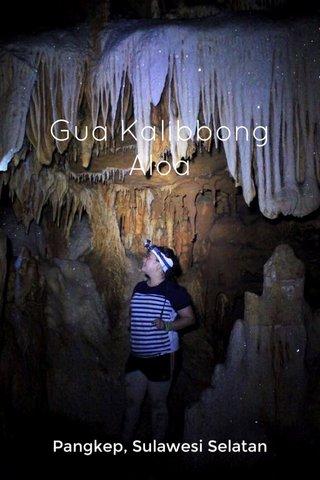 Gua Kalibbong Aloa Pangkep, Sulawesi Selatan