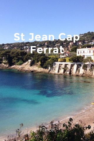 St Jean Cap Ferrat France