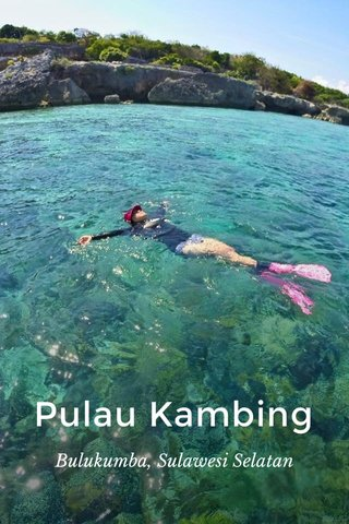 Pulau Kambing Bulukumba, Sulawesi Selatan
