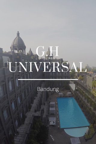 G.H UNIVERSAL Bandung