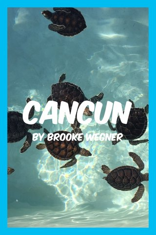 Cancun By Brooke wegner