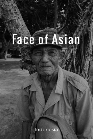 Face of Asian Indonesia