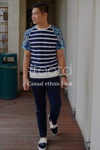 #ootd Casual ethnic look