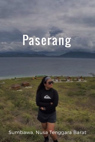Paserang Sumbawa, Nusa Tenggara Barat
