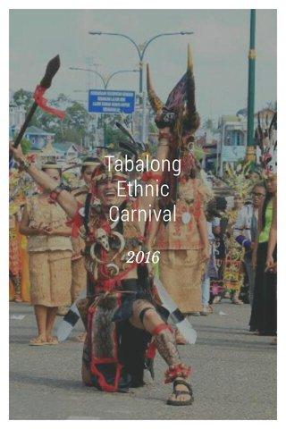 Tabalong Ethnic Carnival 2016