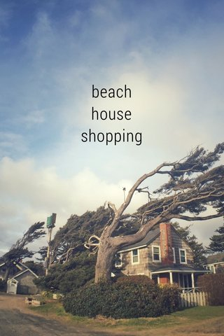 beach house shopping