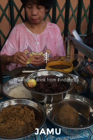 JAMU Traditional drink from #indonesia