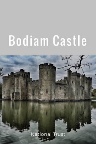 Bodiam Castle National Trust