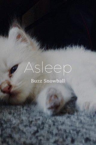 Asleep Buzz Snowball