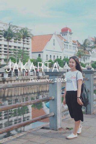 JAKARTA December 2015