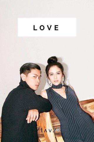 LOVE /lʌv/