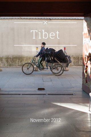Tibet November 2012