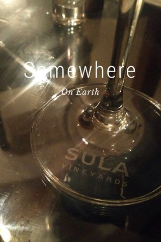 Somewhere On Earth