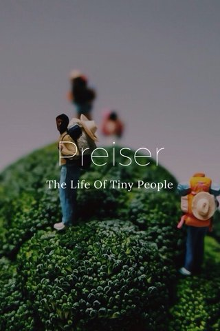 Preiser The Life Of Tiny People