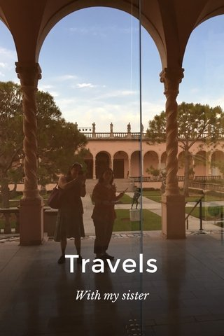 Travels With my sister