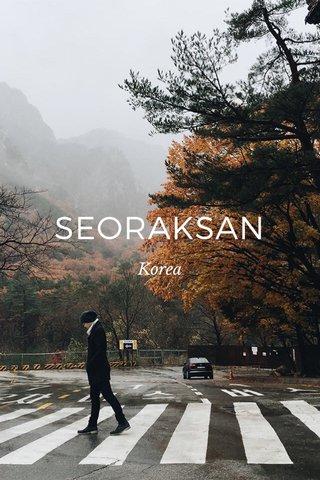 SEORAKSAN Korea