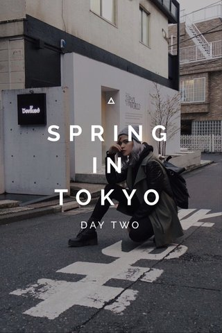 SPRING IN TOKYO DAY TWO