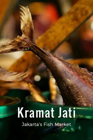 Kramat Jati Jakarta's Fish Market
