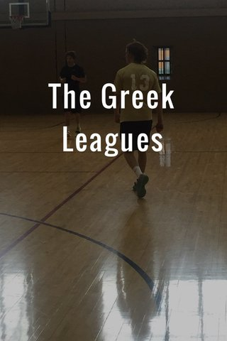 The Greek Leagues