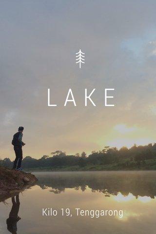 LAKE Kilo 19, Tenggarong