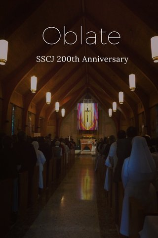 Oblate SSCJ 200th Anniversary