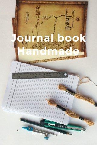 Journal book Handmade By nambocrafts