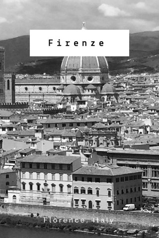 Firenze Florence, Italy