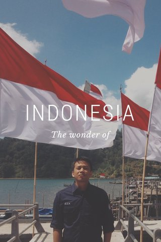 INDONESIA The wonder of