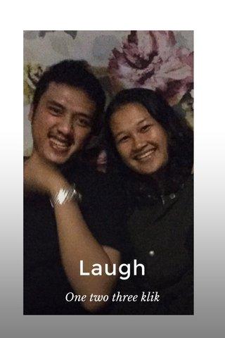 Laugh One two three klik