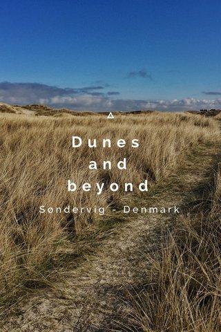 Dunes and beyond Søndervig - Denmark