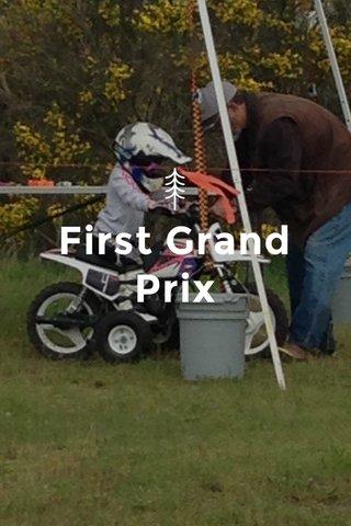 First Grand Prix