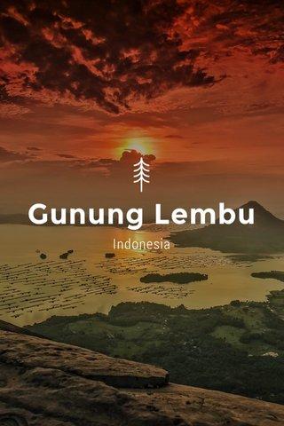 Gunung Lembu Indonesia