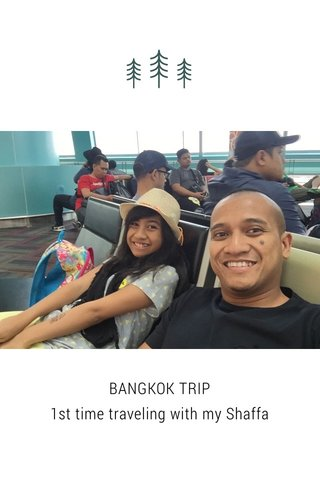 BANGKOK TRIP 1st time traveling with my Shaffa