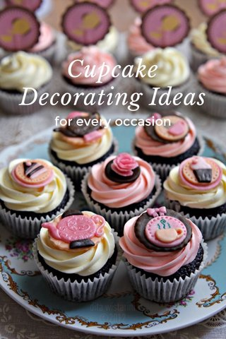 Cupcake Decorating Ideas for every occasion