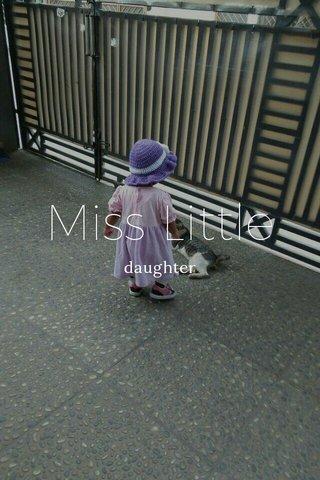 Miss Little daughter