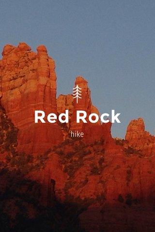 Red Rock hike