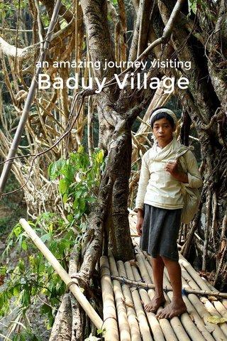 Baduy Village an amazing journey visiting