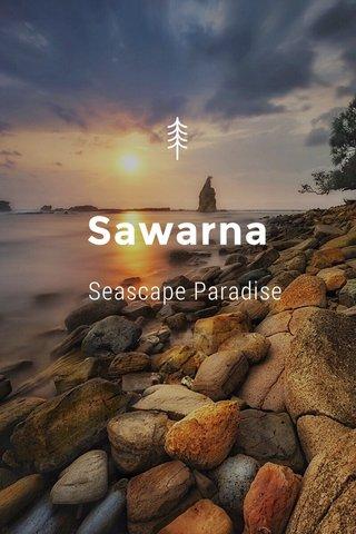 Sawarna Seascape Paradise Seascape Paradise