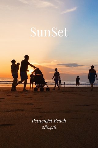 SunSet Petitenget Beach 280416