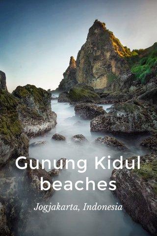 Gunung Kidul beaches Jogjakarta, Indonesia